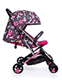 Cosatto Woosh 2 Pushchair – Ultra Lightweight Stroller From Birth to 25kg   One Hand Easy Fold, Compact (Unicorn Land)
