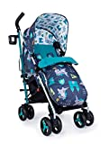 Cosatto Supa 3 Pushchair – Lightweight Stroller from Birth to 25kg   Compact Fold, Large Shopping Basket, Footmuff (Dragon Kingdom)